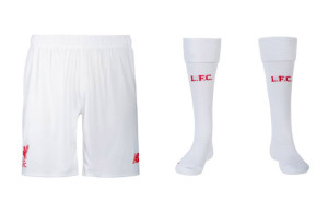 Liverpool 2016 short chaussettes foot 15-16