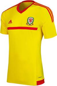 Pays de Galles 2015 maillot exterieur Adidas