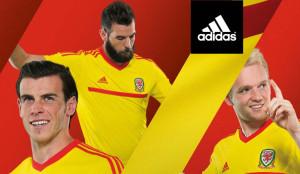 Pays de Galles 2015 maillot exterieur officiel