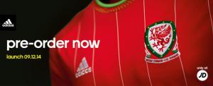 Pays de Galles 2015 maillot foot domicile apercu Wales