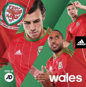 Pays de Galles 2015 maillot foot domicile officiel Bale