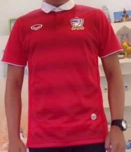 Thailande 2015 maillot foot domicile