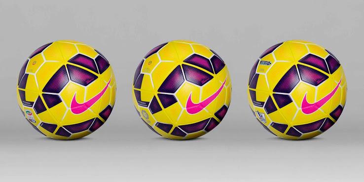 ballon hiver jaune football Nike 2014 2015