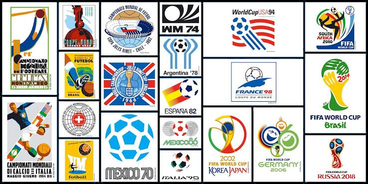 Le logo coupe du monde 2018 en russie maillots foot actu - Toute les coupe du monde de football ...
