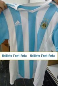 Argentine 2015 maillot domicile Copa America 2015