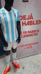 Argentine 2015 tenue de football domicile
