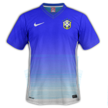 Bresil 2015 maillot exterieur Copa America 2015
