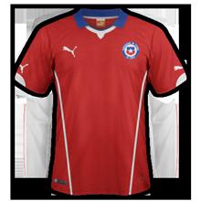 Chili 2015 maillot domicile Copa America