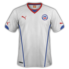 Chili 2015 maillot exterieur Copa America