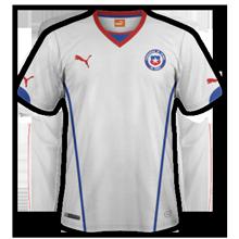 Chili 2015 maillot exterieur Copa America