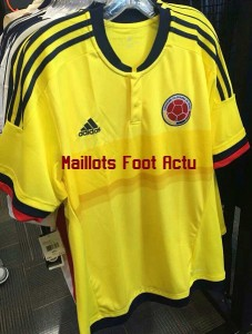Colombie 2015 maillot domicile Copa America photo