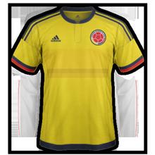 Colombie 2015 maillot domicile Copa America