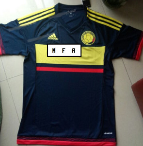 Colombie 2015 maillot exterieur Copa America photo