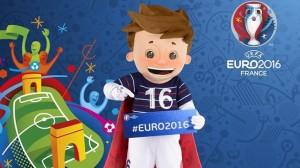Super Victor mascotte Euro 2016