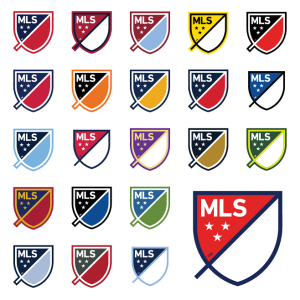 MLS logos version clubs