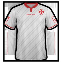 Malte 2015 maillot exterieur football qualifs Euro 2016