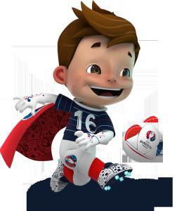 Mascotte France Euro 2016 Super Victor