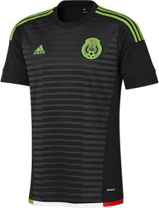 Mexique 2015 maillot domicile
