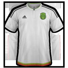 Mexique 2016 maillot exterieur Copa America 2016