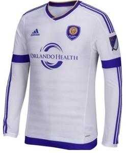 Orlando City 2015 maillot exterieur