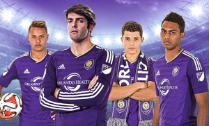 Orlando City 2015 maillot foot domicile officiel