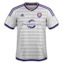 Orlando City 2015 maillot foot exterieur