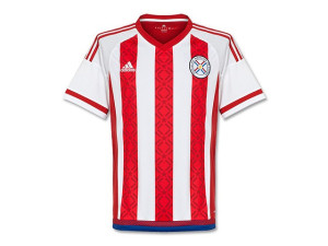 Paraguay 2015 2016 maillot domicile Copa America 2015