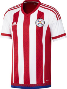 Paraguay 2015 maillot domicile foot Copa America