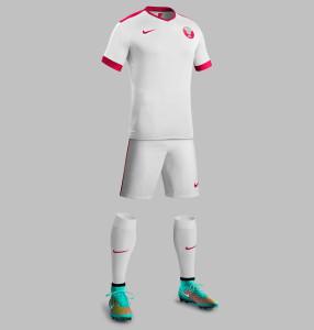 Qatar 2015 maillot exterieur football