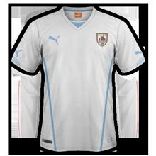 Uruguay 2015 maillot exterieur Copa America