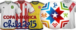 maillots foot copa america 2015