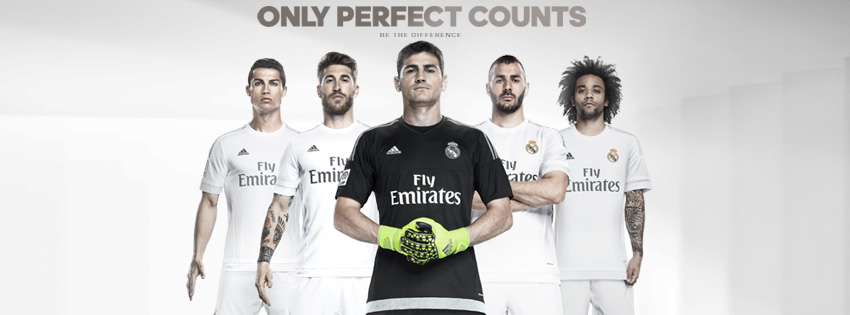 Real Madrid 2016 maillot domicile officiel 15-16