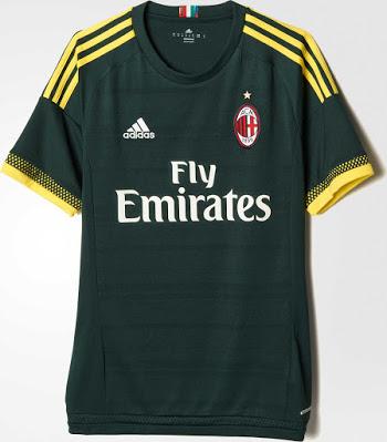 AC Milan 2016 3eme maillot third 2015 2016