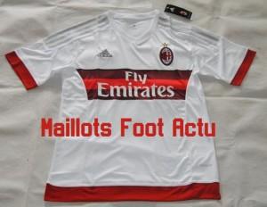 AC Milan 2016 maillot exterieur 15-16