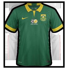 Afrique du sud maillot exterieur CAN 2015