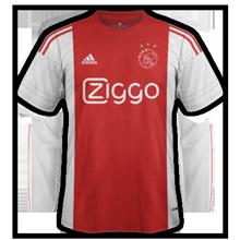 Ajax 2016 maillot domicile foot