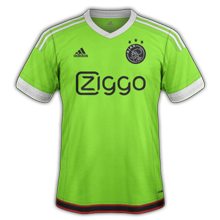 Ajax 2016 maillot exterieur