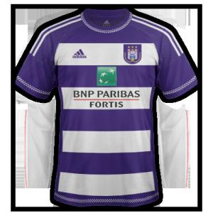 Anderlecht 2016 maillot domicile 15-16