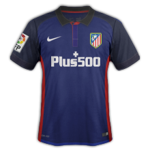 Atletico Madrid 2016 maillot exterieur 15-16
