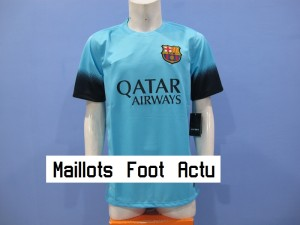 Barcelona 2016 3eme maillot foot third 15-16