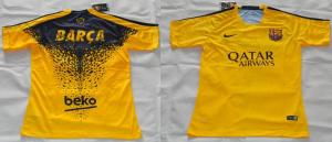 Barcelone 2015 2016 maillot pre-match