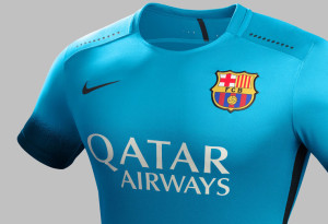 Barcelone 2015 maillot third Nike 15-16