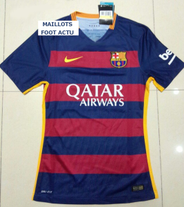 Barcelone 2016 maillot domicile 15-16