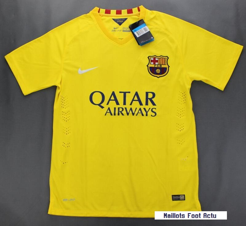 Barcelone 2016 maillot exterieur foot for Maillot exterieur barcelone 2014