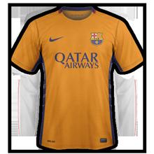 Barcelone 2016 maillot exterieur football