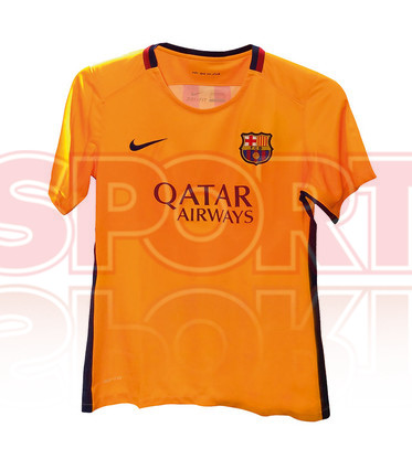 Barcelone 2016 les maillots de foot 2015 2016 for Maillot exterieur barcelone 2014
