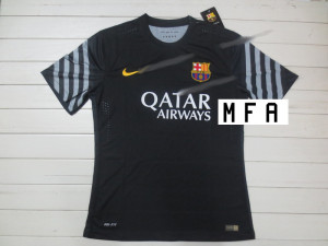 Barcelone 2016 maillot gardien noir 15-16