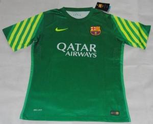 Barcelone 2016 maillot gardien vert 15-16