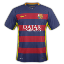 Barcelone 2016 maillots de football 2015 2016