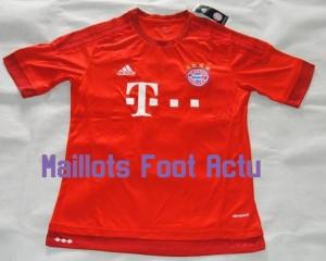 Bayern Munich 2016 maillot domicile 15-16